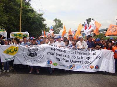 Marcha por la Autonomía Universitaria
