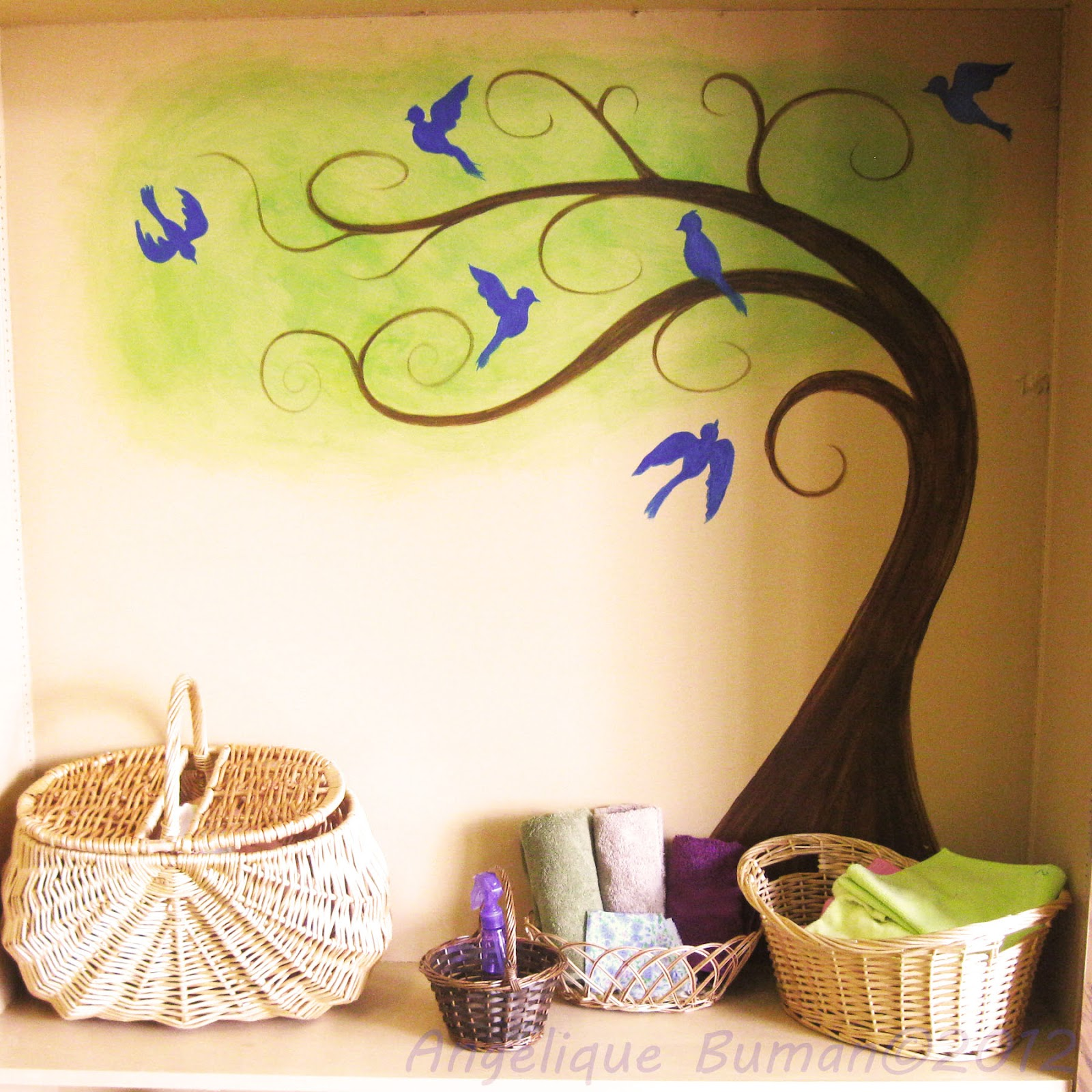 simple canvas paintings for beginners trees are great for beginners. Black Bedroom Furniture Sets. Home Design Ideas