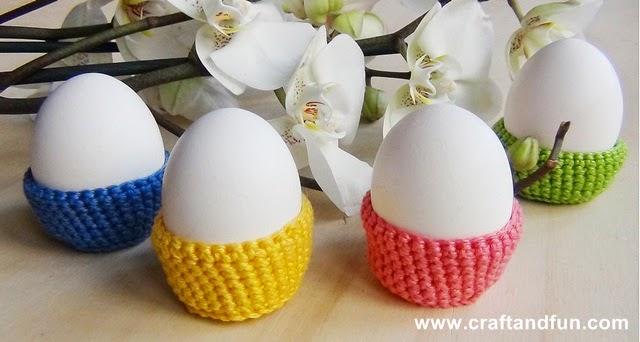 Lavori uncinetto Pasqua