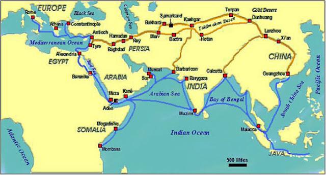 Jalur Perdagangan Indonesia dan International