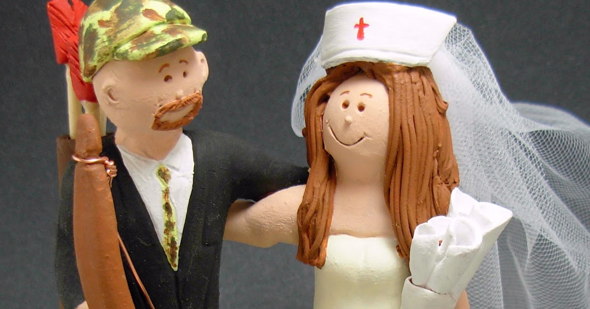Archery Wedding Cake Toppers
