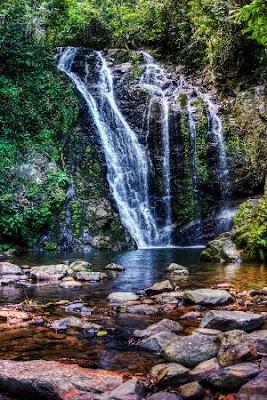 Tawau Hills Park Waterfall