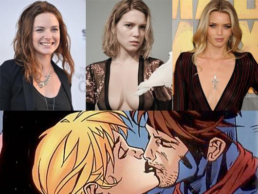 Lea Seydoux, Rebecca Ferguson y Abbey Lee candidatas para 'Gambit' como Bella Donna Boudreaux