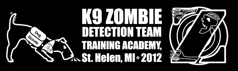 K9 Zombie Detection Training Academy