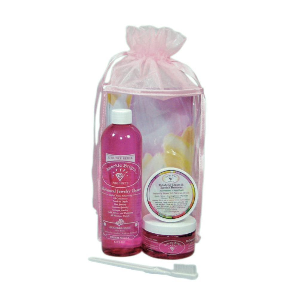 hanging the wire sparkle bright jewelry cleaner