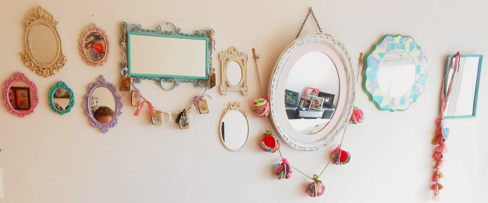 Maison lulu como decorar con espejos - Como se hacen los espejos ...