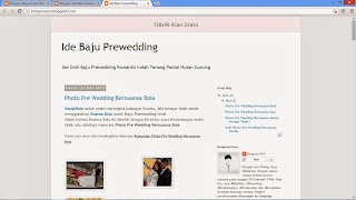 Hasil Akhir Belajar Cara Edit Template Blogger Supaya Keren