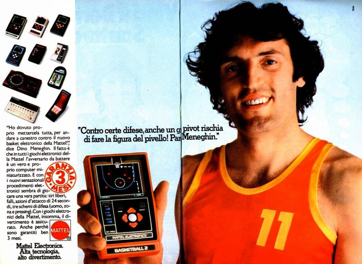 Mattel Electronics Basketball Meneghin