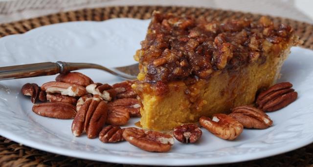 KC in the Kitchen: Pumpkin Pecan Praline Pie: