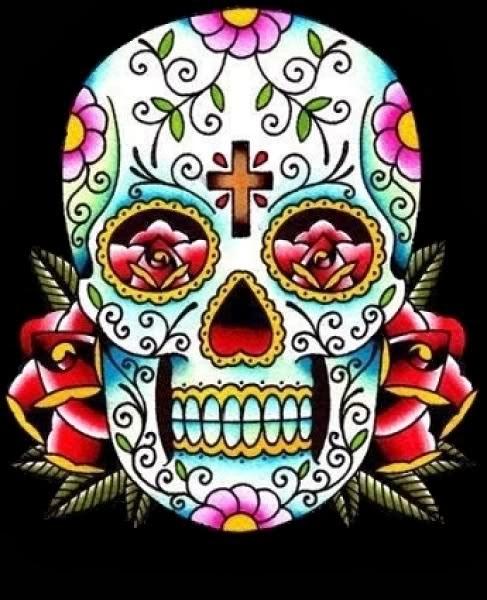 Mexican Decorated Skulls Mexican Sugar Skull Tattoos