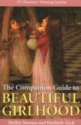 The Companion Guide to Beautiful Girlhood Book Review by A Slice of Homeschool Pie.com #BeautifulGirlhood