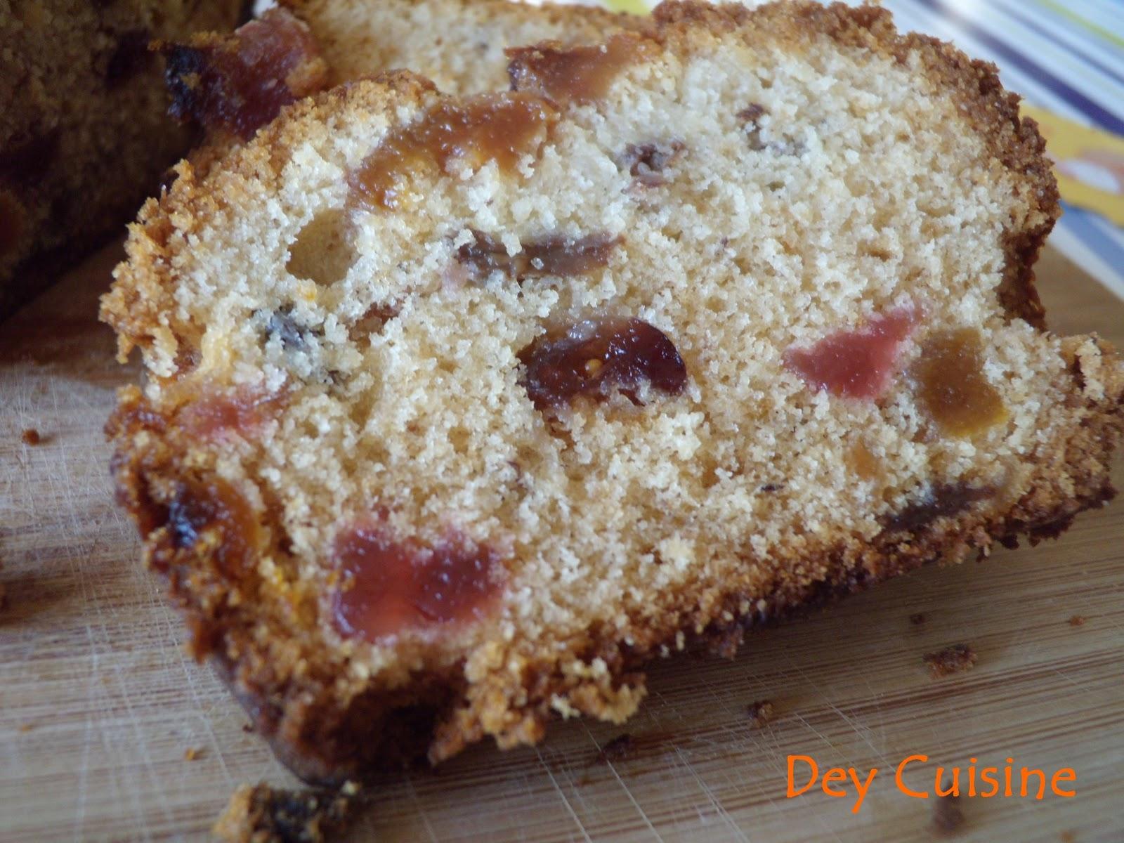 Recette Cake Au Fruits Confits Pierre Herm Ef Bf Bd