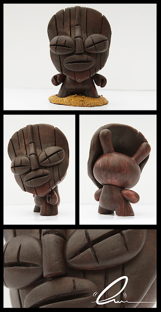 Bark the Tiki Custom 3 Inch Dunny by UME Toys