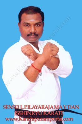 Isshinryu Karate Martials Arts Kanchipuram