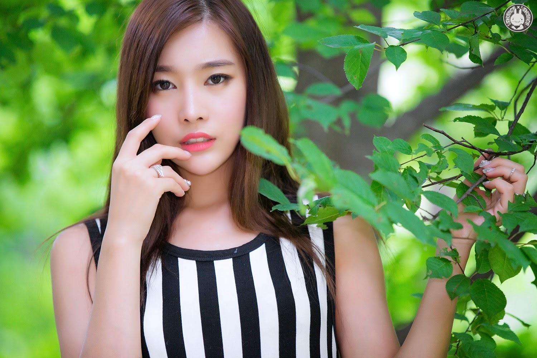 2 Outdoor Photo Shoot With Beautiful Min Je Yee - very cute asian girl-girlcute4u.blogspot.com