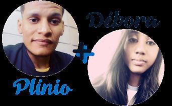 Plínio e Débora - Escritores do Blog!