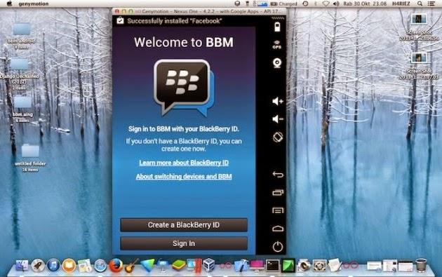 How to Install Blackberry Messenger (BBM) for Mac