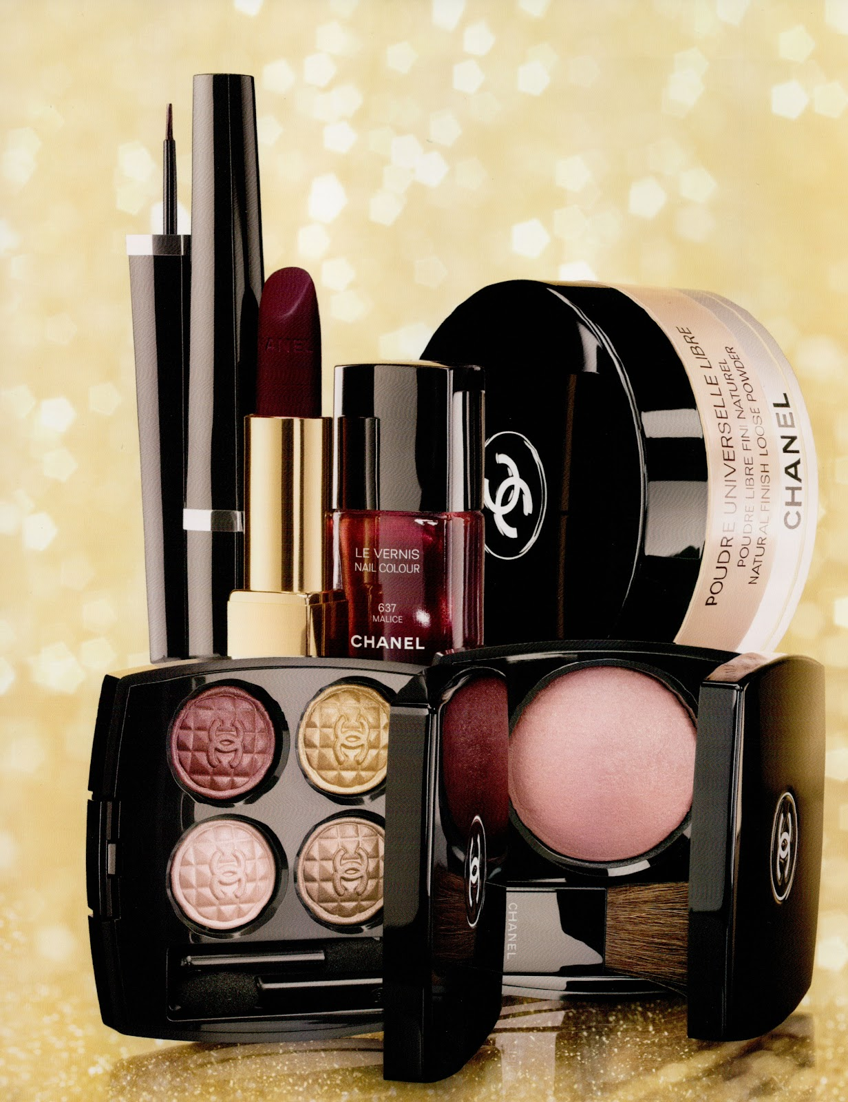 Face by stace with stacey camacho: collection eclat du soir de chanel : evening glow collection from chanel 2012.