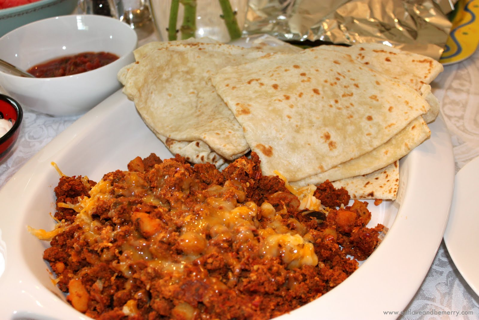Eat, Love, and Be Merry.: Chorizo with Eggs and Potatoes