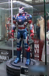 Play Imaginative Super Alloy 1/4 Scale Figure - Iron Man 3 - Iron Patriot