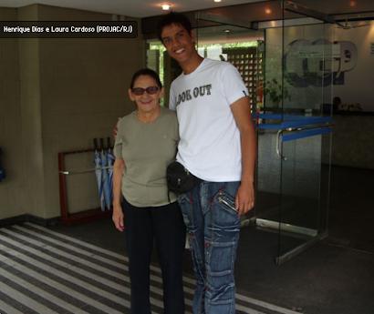 ESSE GAROTO VAI LONGE!  Henrique Dias gravou cenas no filme VAZIO CORAÇÃO!