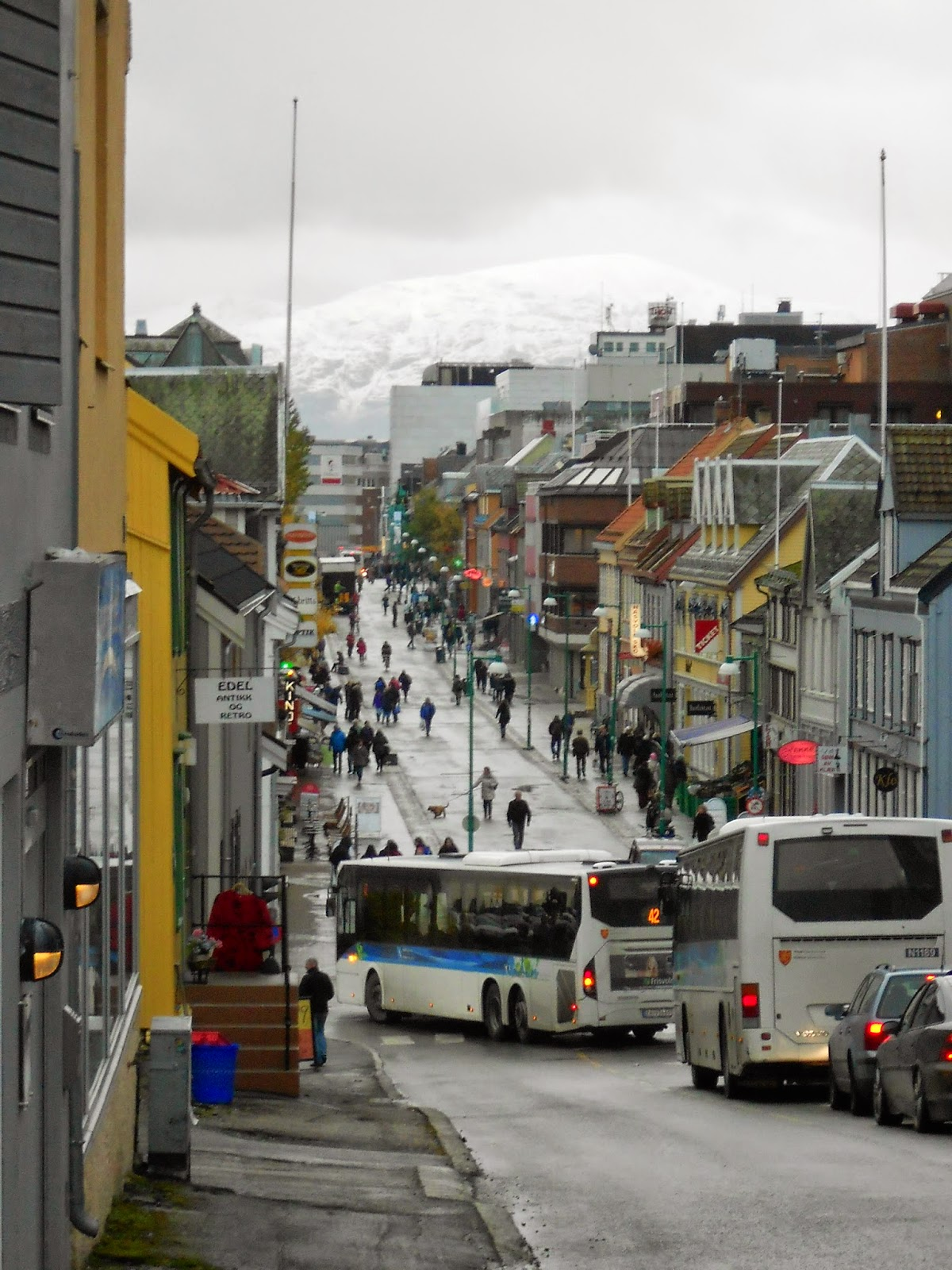 autumn in tromso