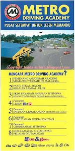 Kelas Memandu Di Metro Driving Academy
