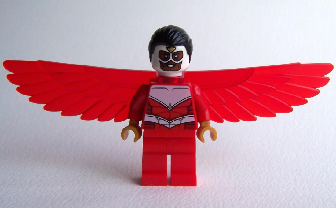 LEGO Falcon 76018 Hulk Smash Lab