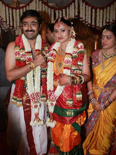 Sneha and Prasanna Marriage Stills