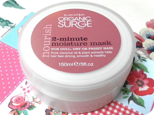 Organic Surge 2-Minute Moisture Mask