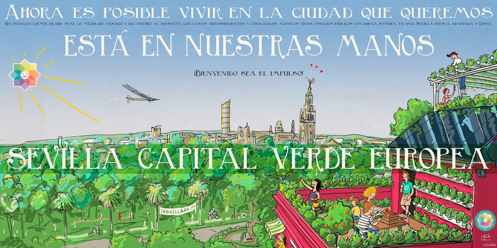 Sevilla, ciudad candidata a la Capital Verde Europea