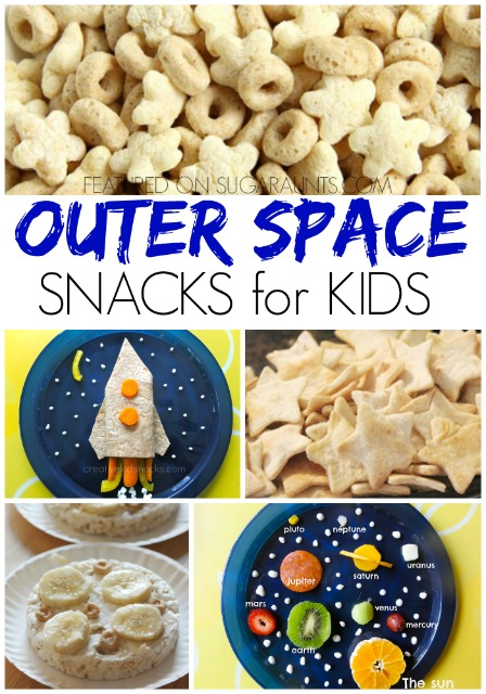 Outer space snack ideas for kids