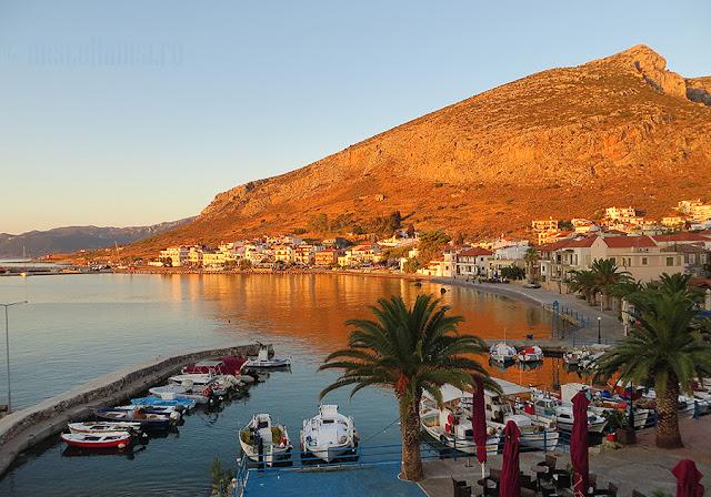 Drum Grecia