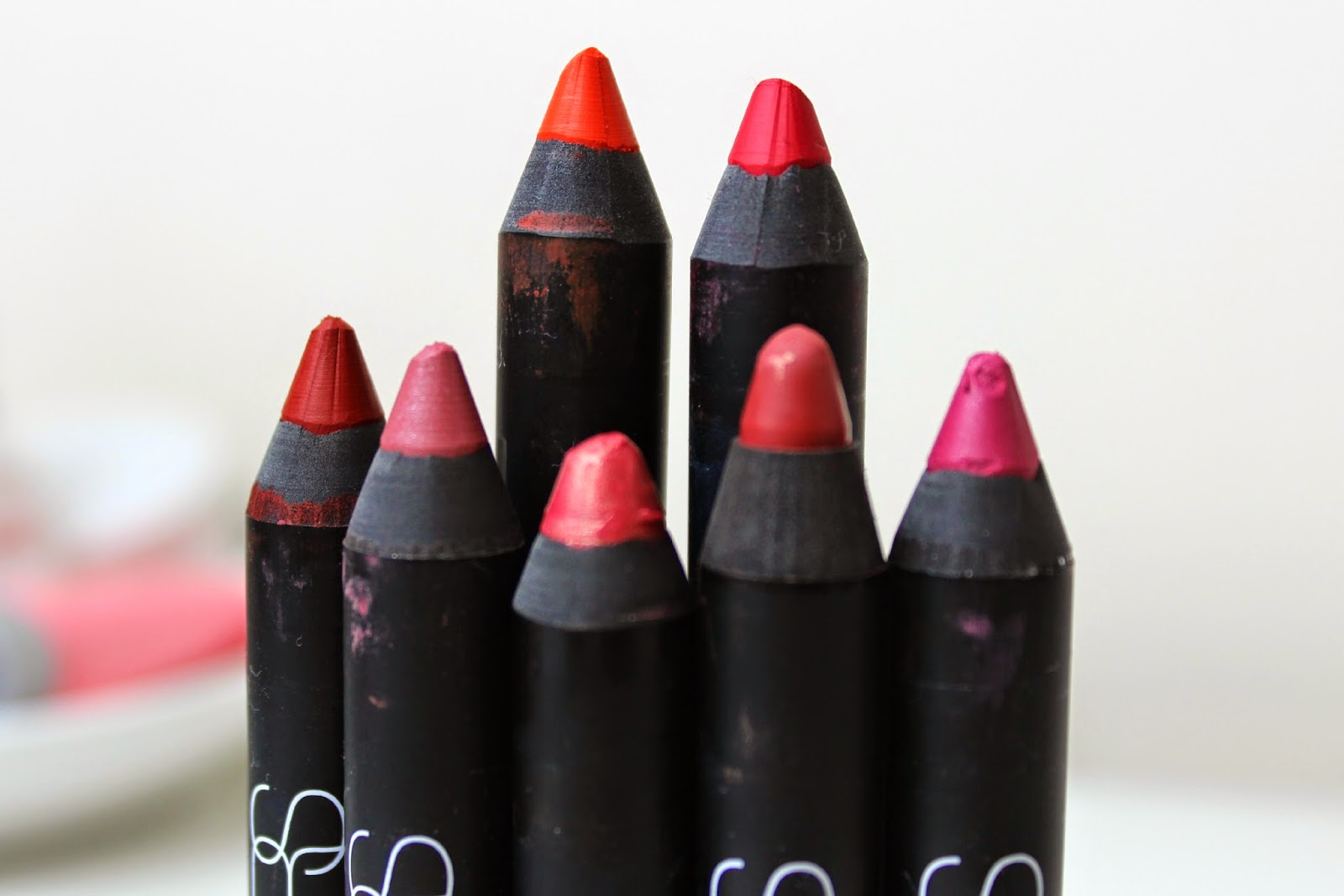 A picture of a NARS Lip Pencil Collection