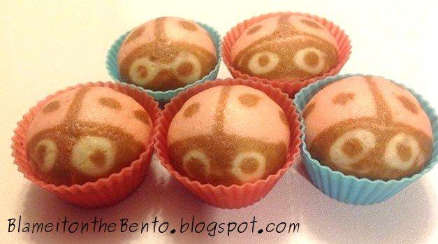 Ladybug Steam cakes