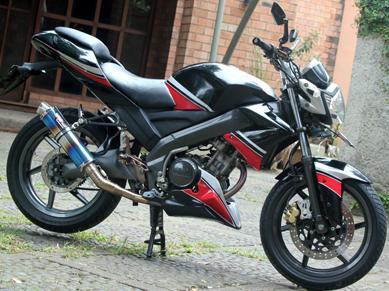Modif Spakbor Belakang Yamaha Nvl