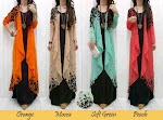 Gamis Spandex + Cardi Sifon SOLD OUT
