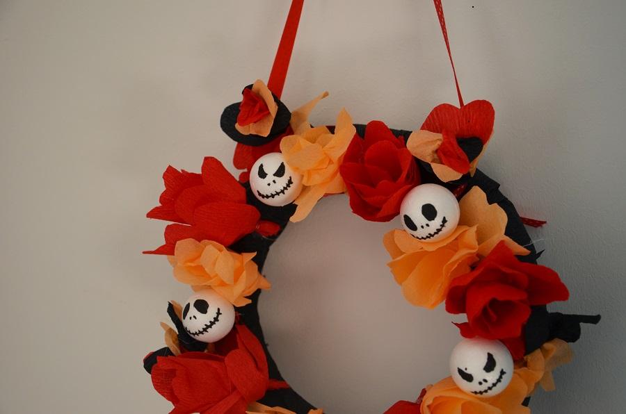 Diy Halloween La Couronne Jack Skellington Le Blog De Yeude