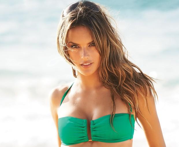 Alessandra ambrosio breast size