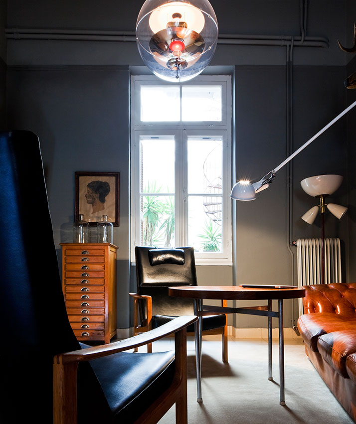 Monday design the classiest bachelor pad for Avant garde interiors