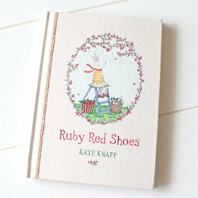 foot talk: Ruby Red Shoes by Kate Knapp