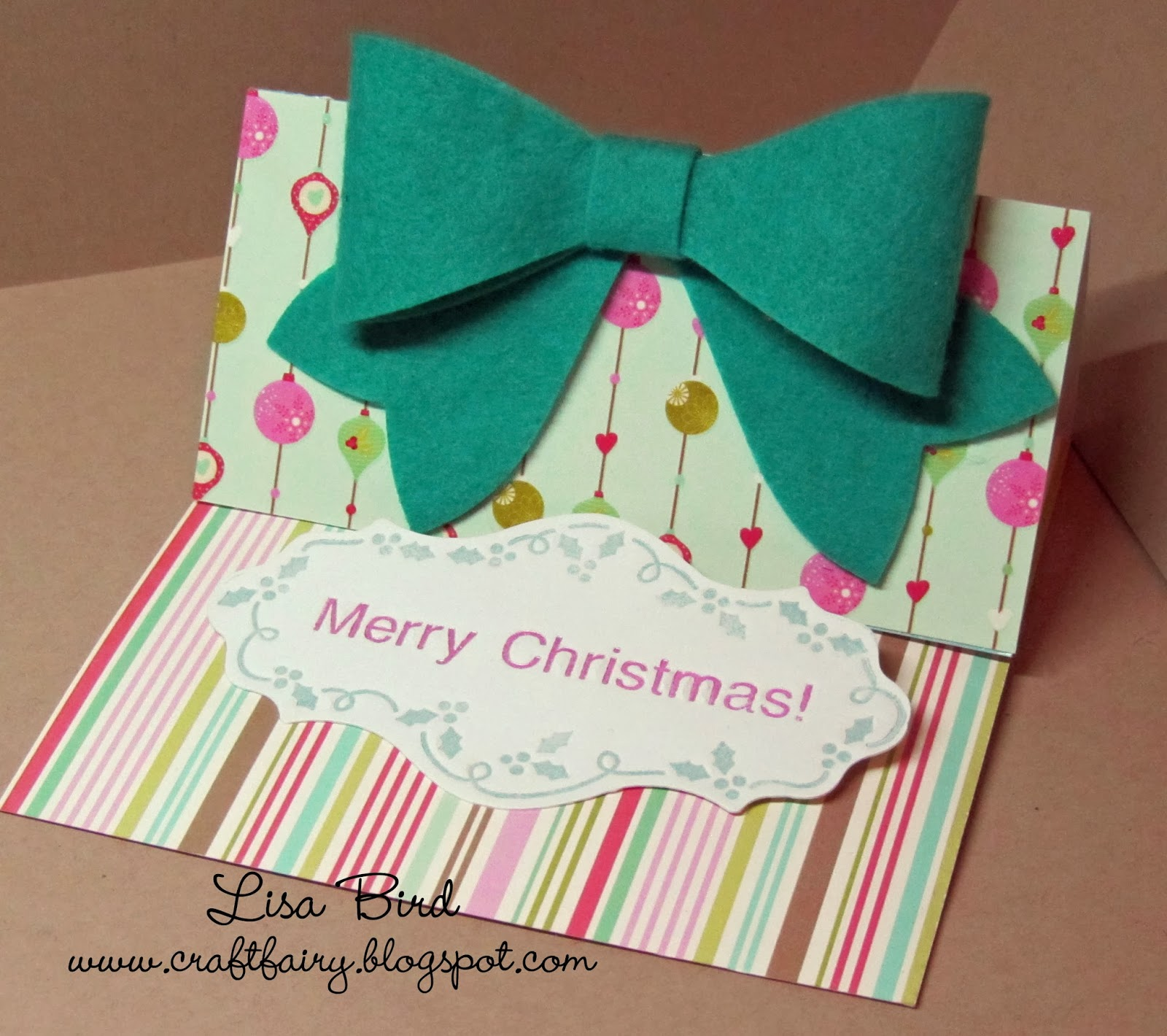 A Day In The Life Of A Craft Fairy All Wrapped Up Felt Bow
