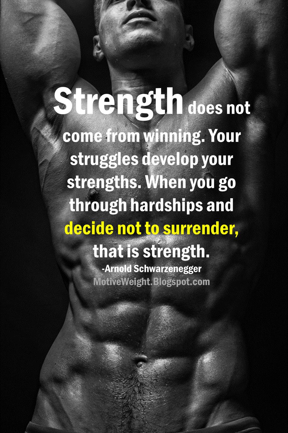 motiveweight your struggles develop your strengths your struggles develop your strengths