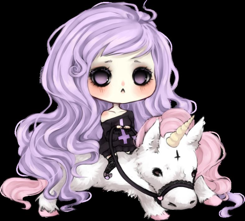 Pastel Goth On Tumblr: Kawaii Make-up: Pastel Goth
