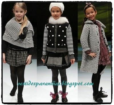 modelos de invierno para niñar