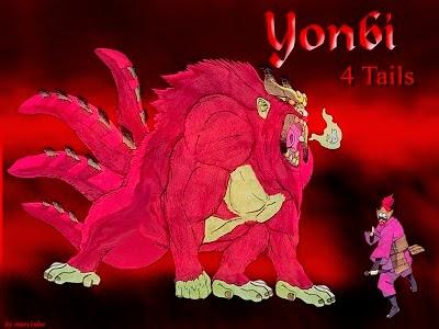 Son Goku (Yonbi) si Ekor 4