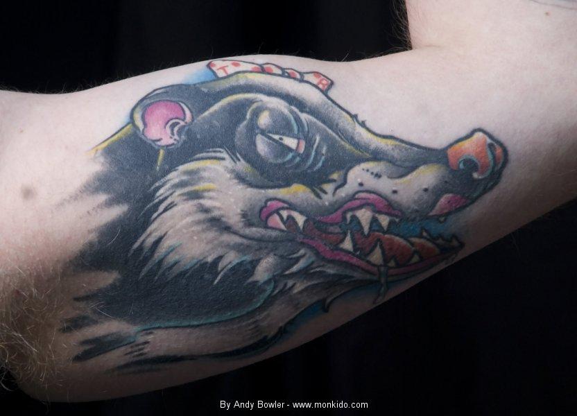 Monki do tattoo studio badger tattoos for Studio 42 tattoo