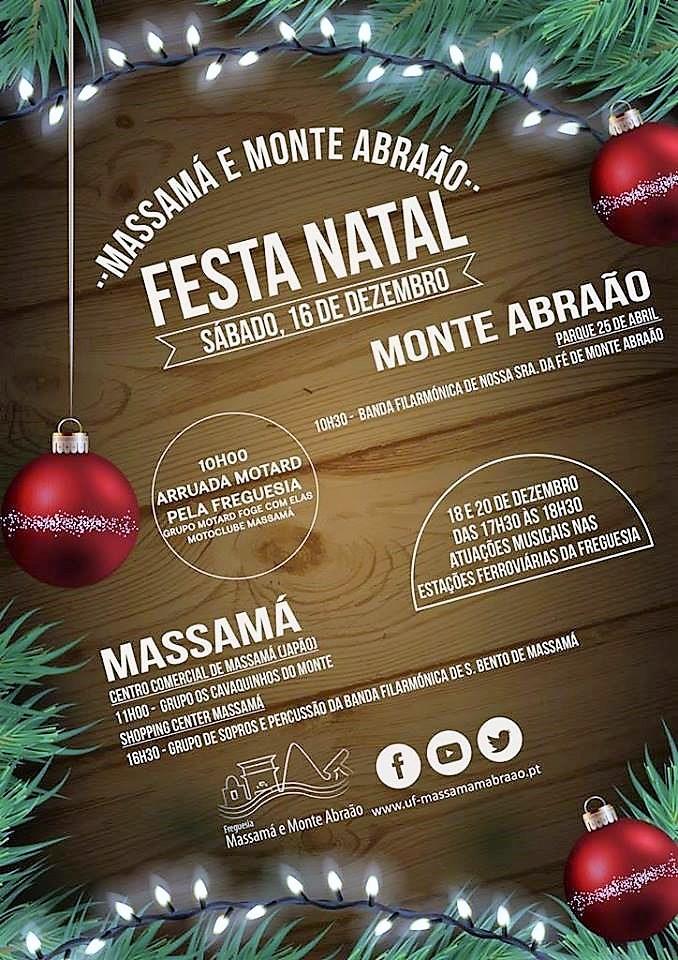 16 de dezembro: Massamá e Monte Abraão