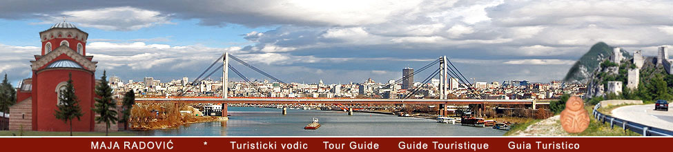 Tour Guide Belgrade, Turisticki vodic Beograd, Guide Touristique, Guia Turistico, Reiseleiter
