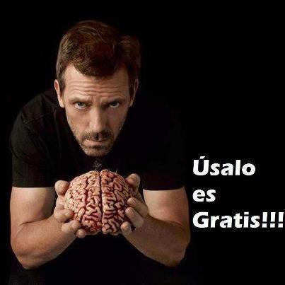 Úsalo el cerebro es gratis